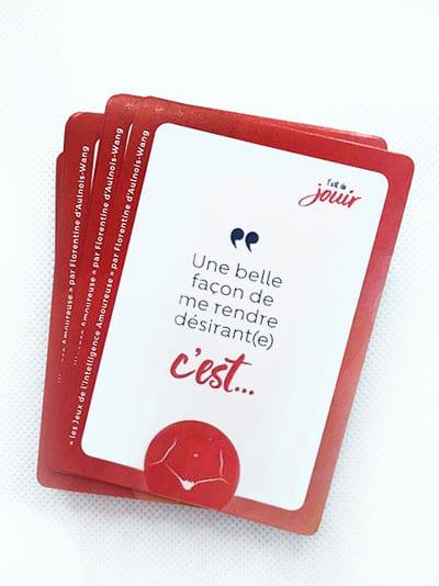 jeu de carte l'art de jouir